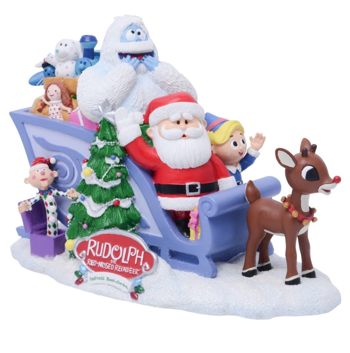 Rudolph And Friends Figurine Exclusively At Seaworld Rudolph The