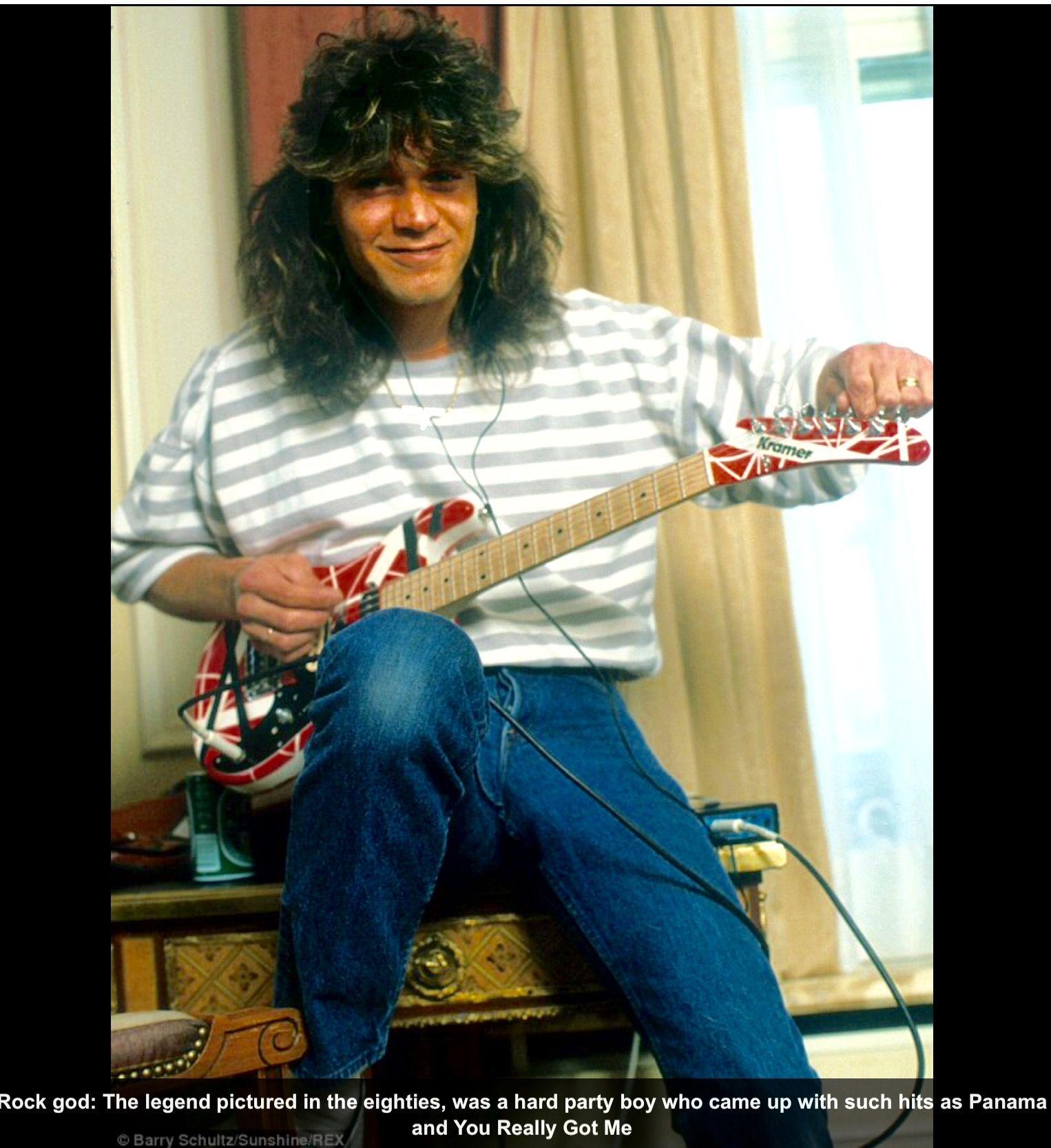 Eddie Van Halen Eddie Van Halen Van Halen Valerie Bertinelli