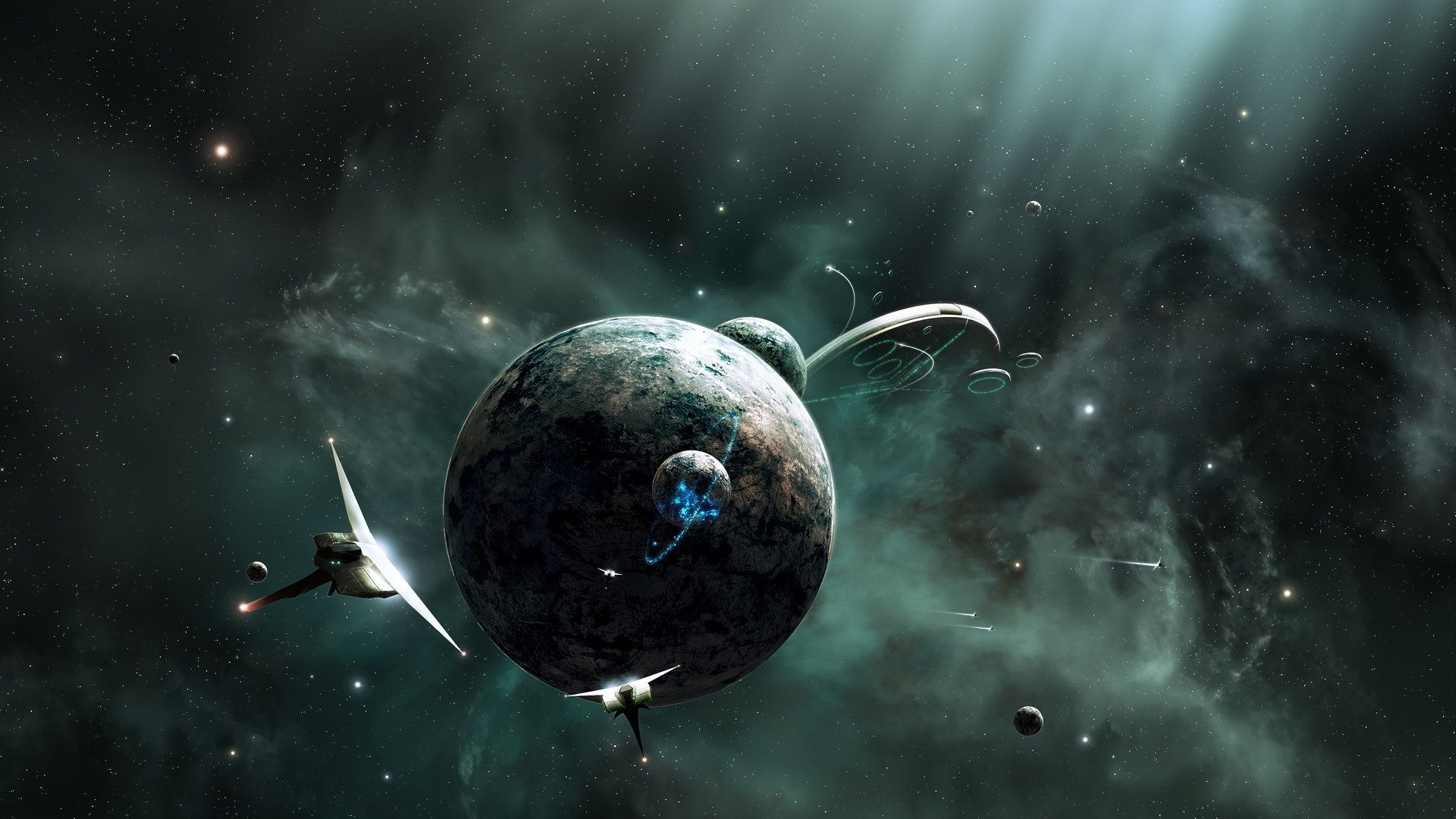 green planet wallpapers tagged black earth orbit planet | hd