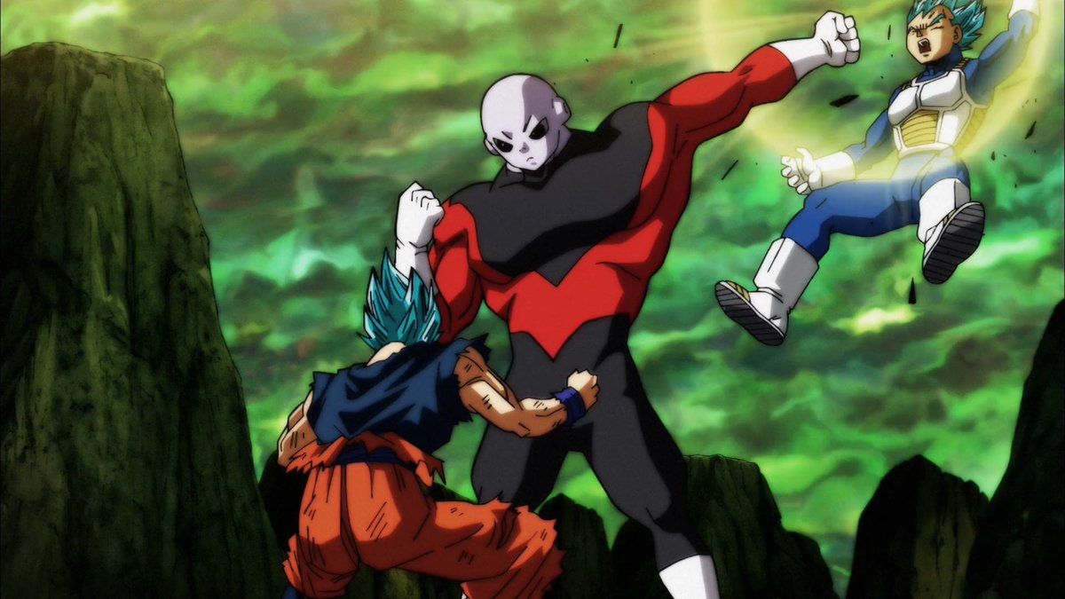 Dragon Ball Super Poster Goku Jiren Survival Tournament 12inx18in Free Shipping