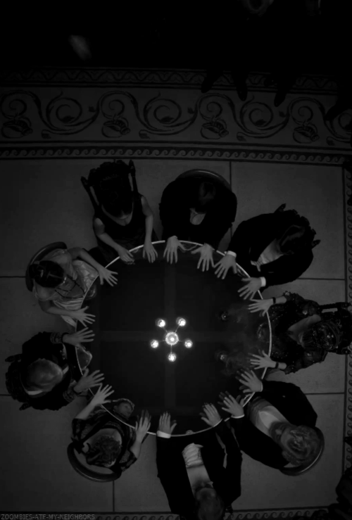 Witches Circle | Magick | Magic Ritual | Seance | Witchy | Witchcraft | Dark | Photography | Black and White | Occult | Coven | Wiccan | Pagan