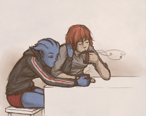 I Have No Idea What This Is The Morning After The Citadel Party Mass Effect Art Mass Effect Universe Mass Effect