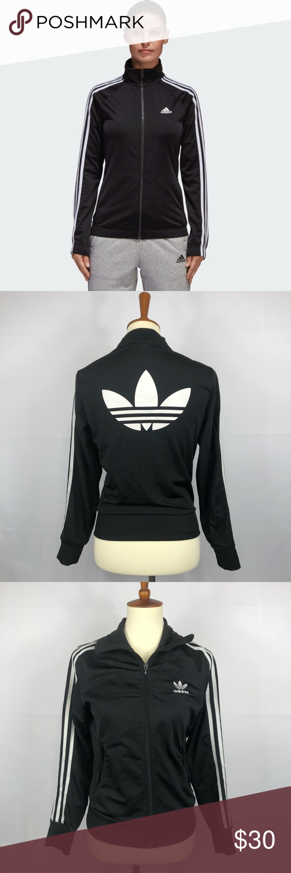 Buy cheap adidas track jacket black gold >Up to OFF60% Discounts