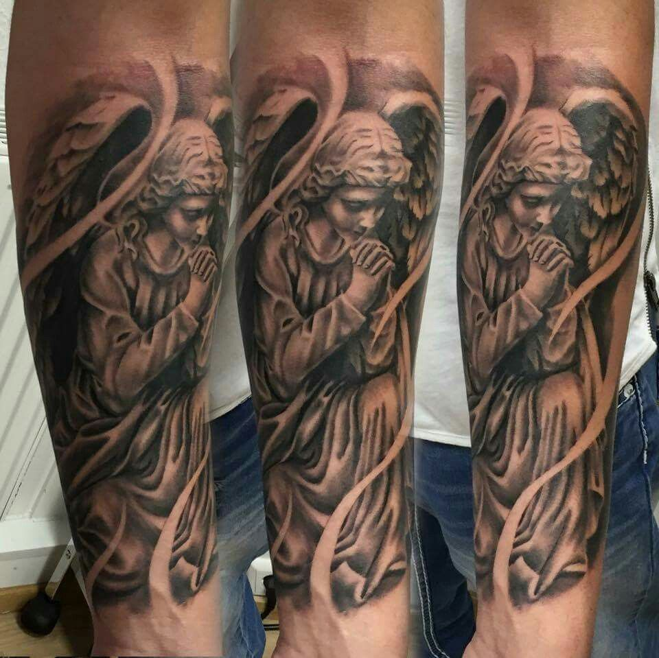 angelAngel Beautiful angel tattoos, Angle tattoo