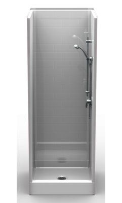 Bestbathsystems 30 X 30 X 82 5 Shower Module With Images