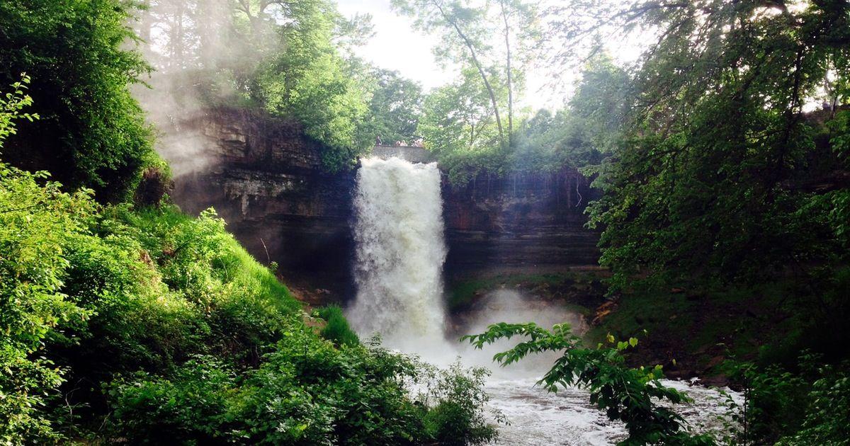 Explore minnehaha falls beautiful waterfalls waterfall