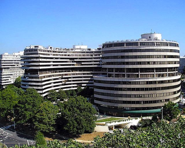 The Watergate Complex Seen From The Rooftop Terrace At The Kennedy Center Rooftop Terrace Terrace Building