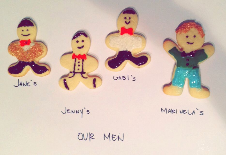 Baking our men