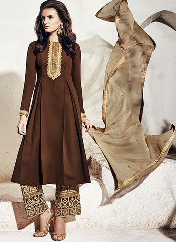 Brown Party Outfits