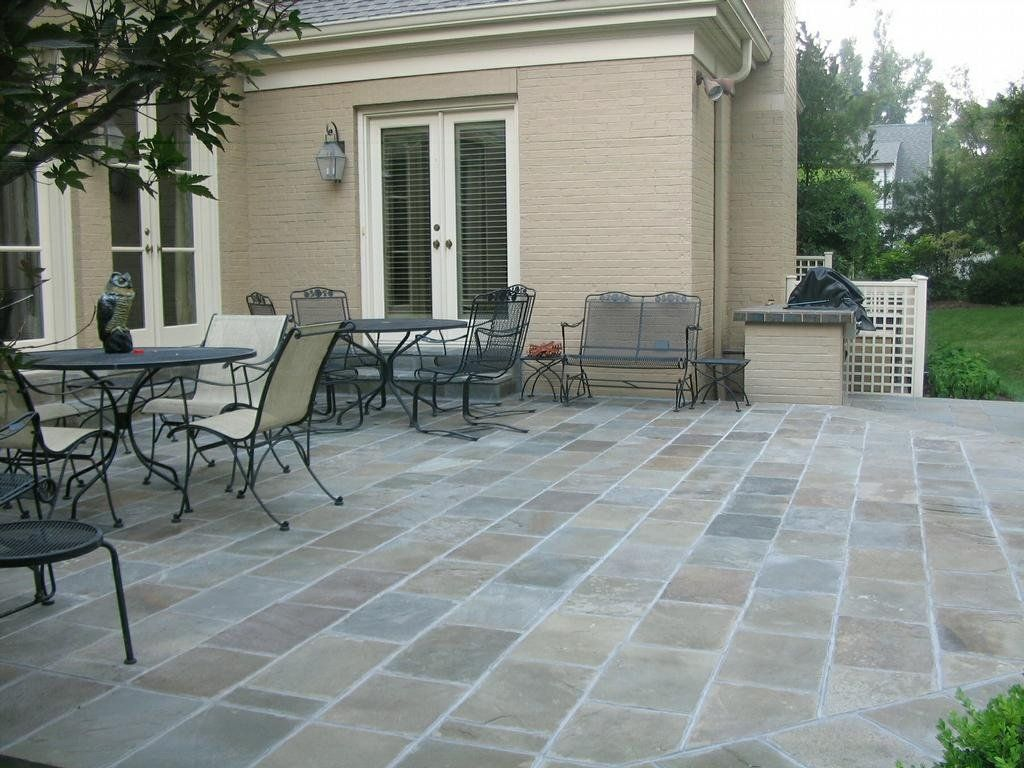 Image result for slate patio Outdoor patio flooring