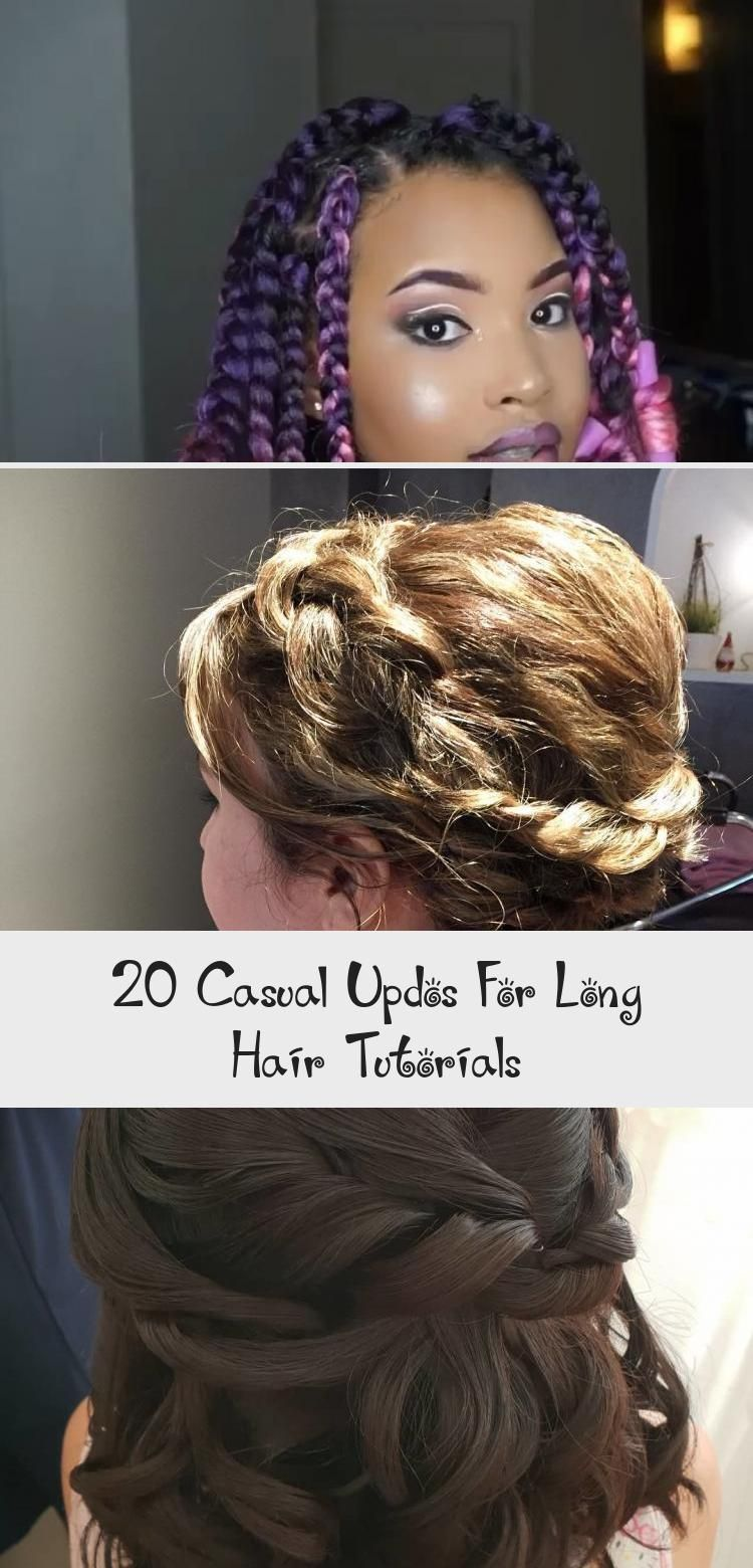 20 casual updos for long hair tutorials these 20 casual