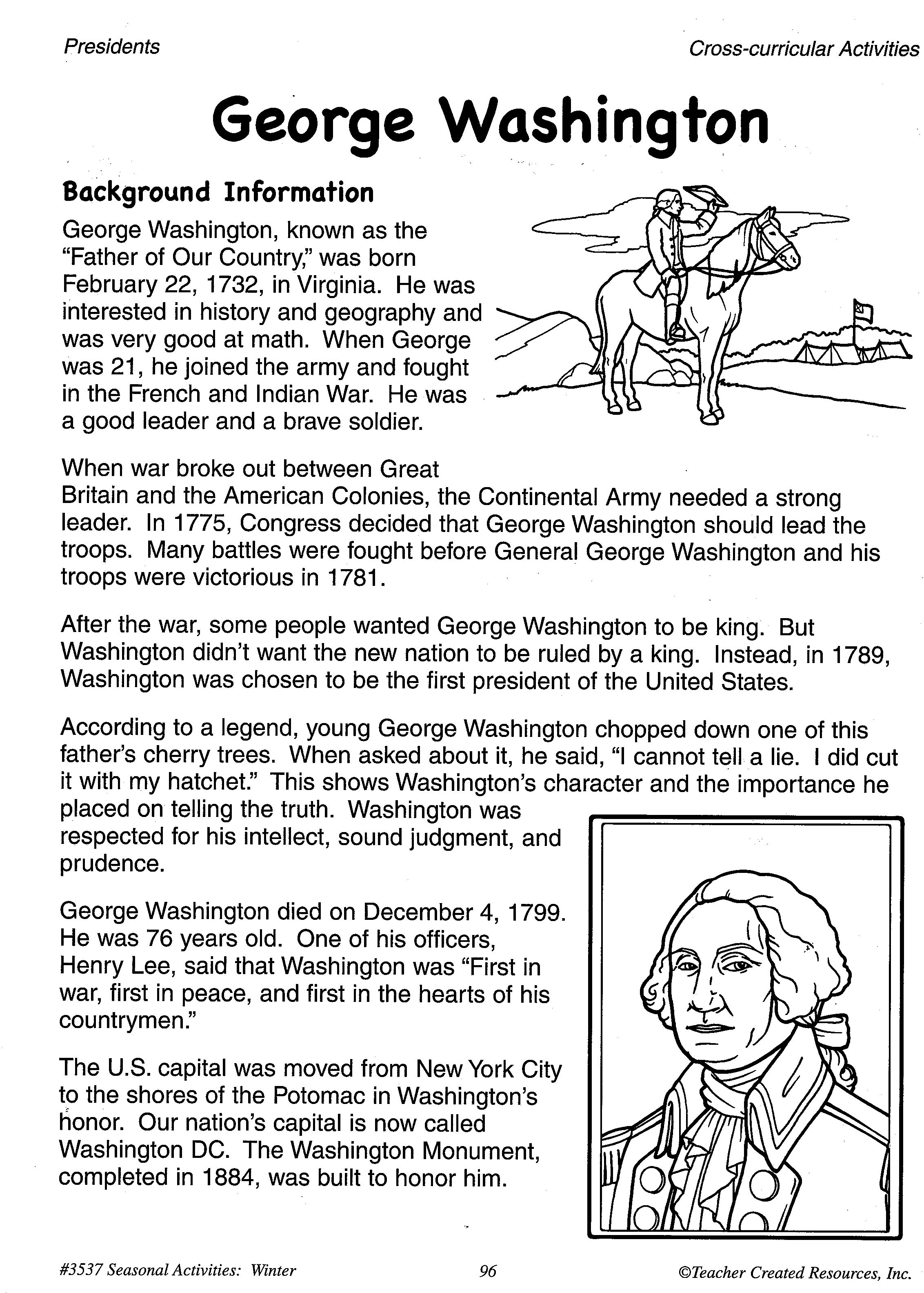 Help Your Students Learn About George Washington With This