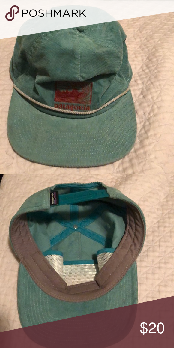 b603c29e Corduroy Patagonia Hat Good condition, 5 panel hat. Patagonia Accessories  Hats