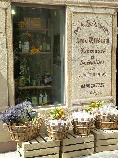 Provence Provence style, French countryside, Store fronts