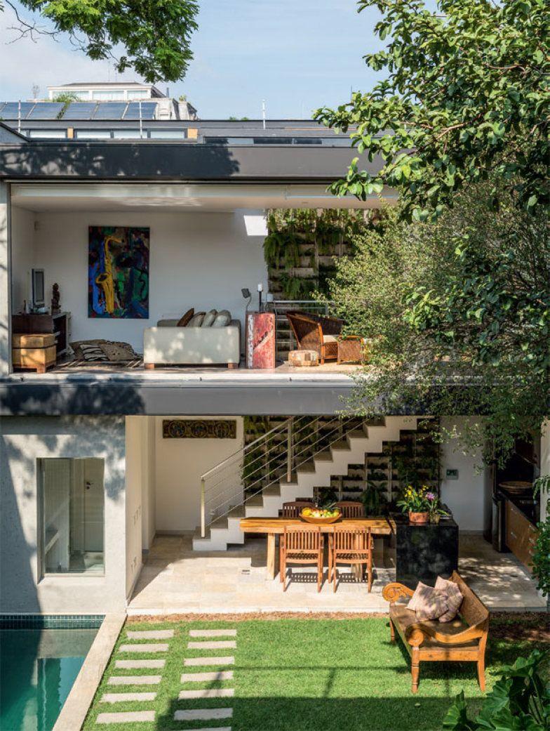 Sobrado Paulistano Tem Vista Incr Vel E Um Jardim R Stico Lofts