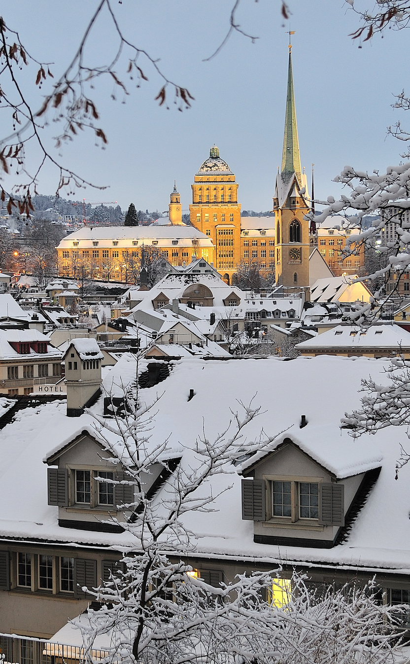 Winter In Zurich Beautiful Places Places Around The World Places