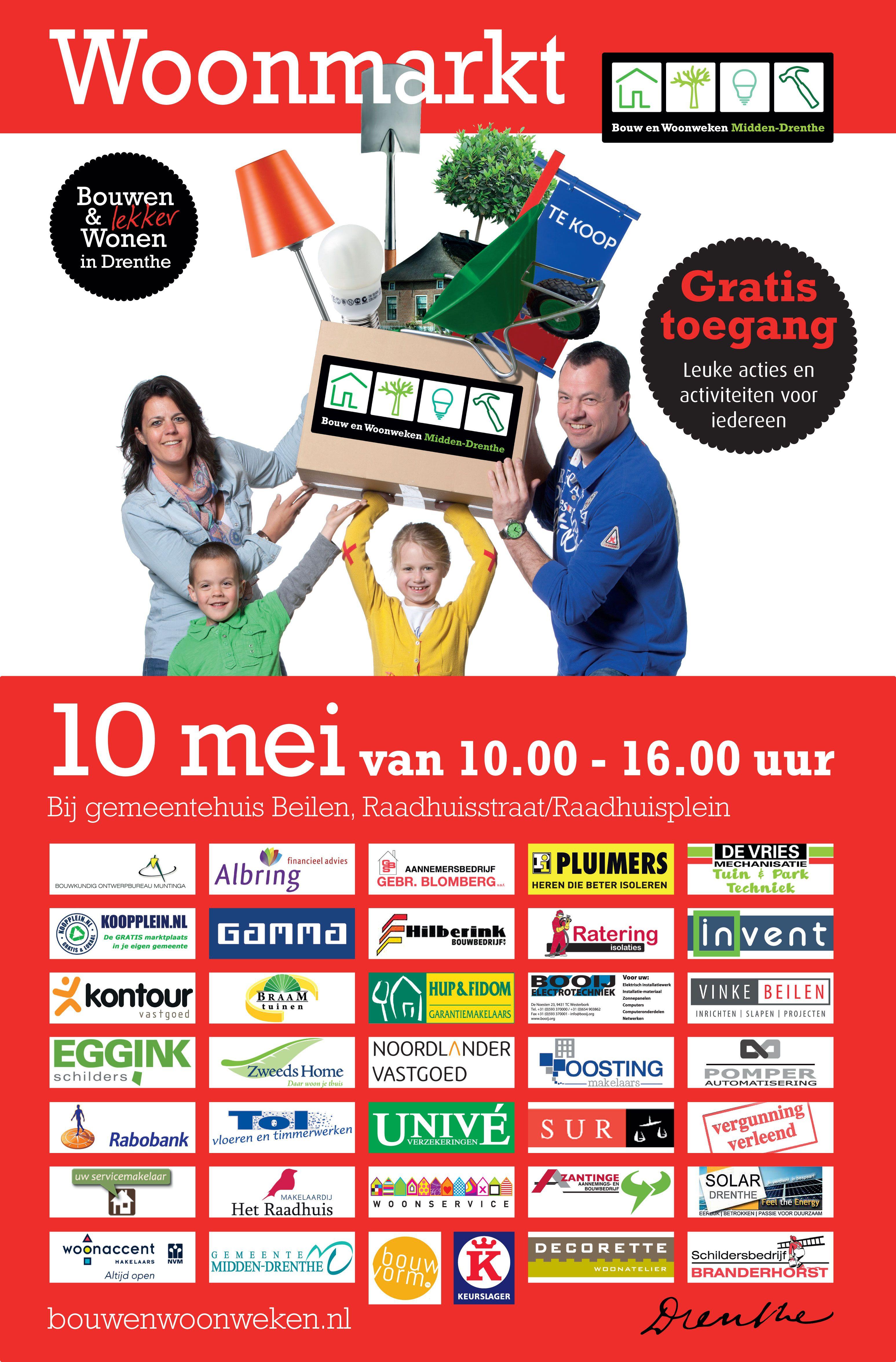 Vandaag een mooie advertentie in de Krant van Midden-Drenthe over de Woonmarkt 10 mei in het gemeentehuis in Beilen. HappySnappy, de Gouden Hand, De Hofmeester uut Drenthe en Koopplein Midden-Drenthe zullen zich hier samen presenteren met een leuke actie! http://koopplein.nl/middendrenthe/3515800/4-bedrijven-uit-beilen-samen-op-beurs-bouwen-en-wonen.html