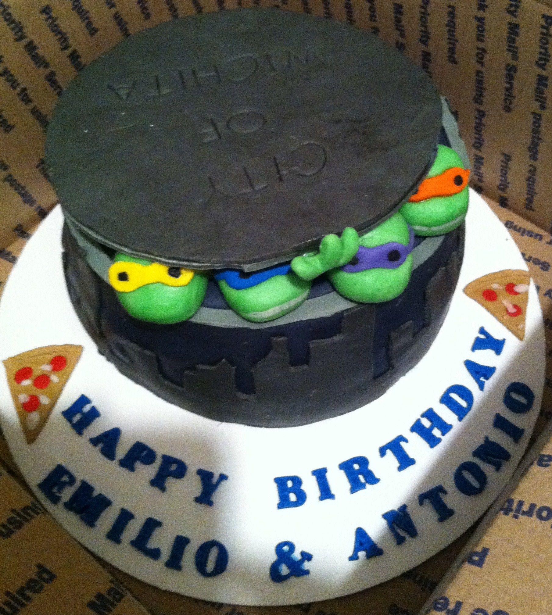 Ninja Turtle Birthday Cake And Ideas