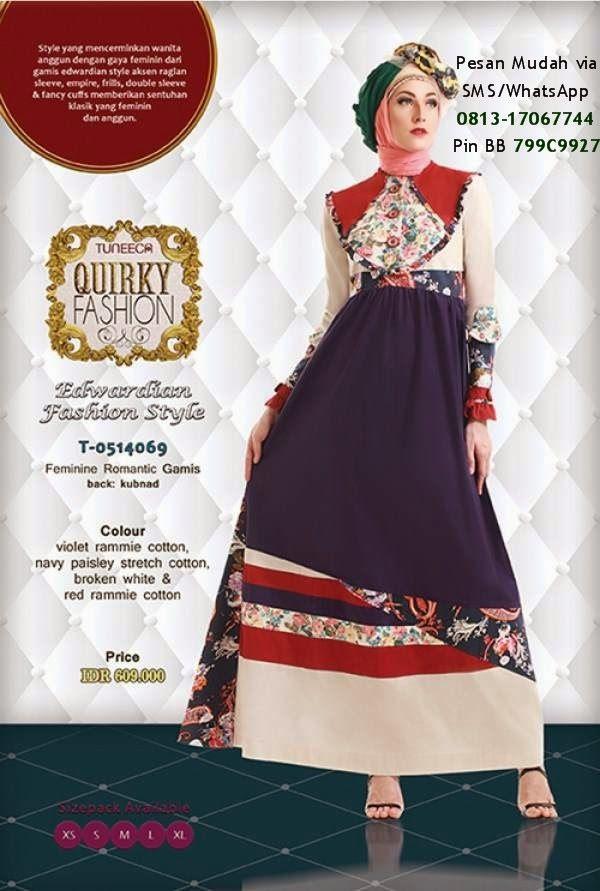 Gamis Tuneeca Collection Terbaru Cantik Berbaju Muslim Kids