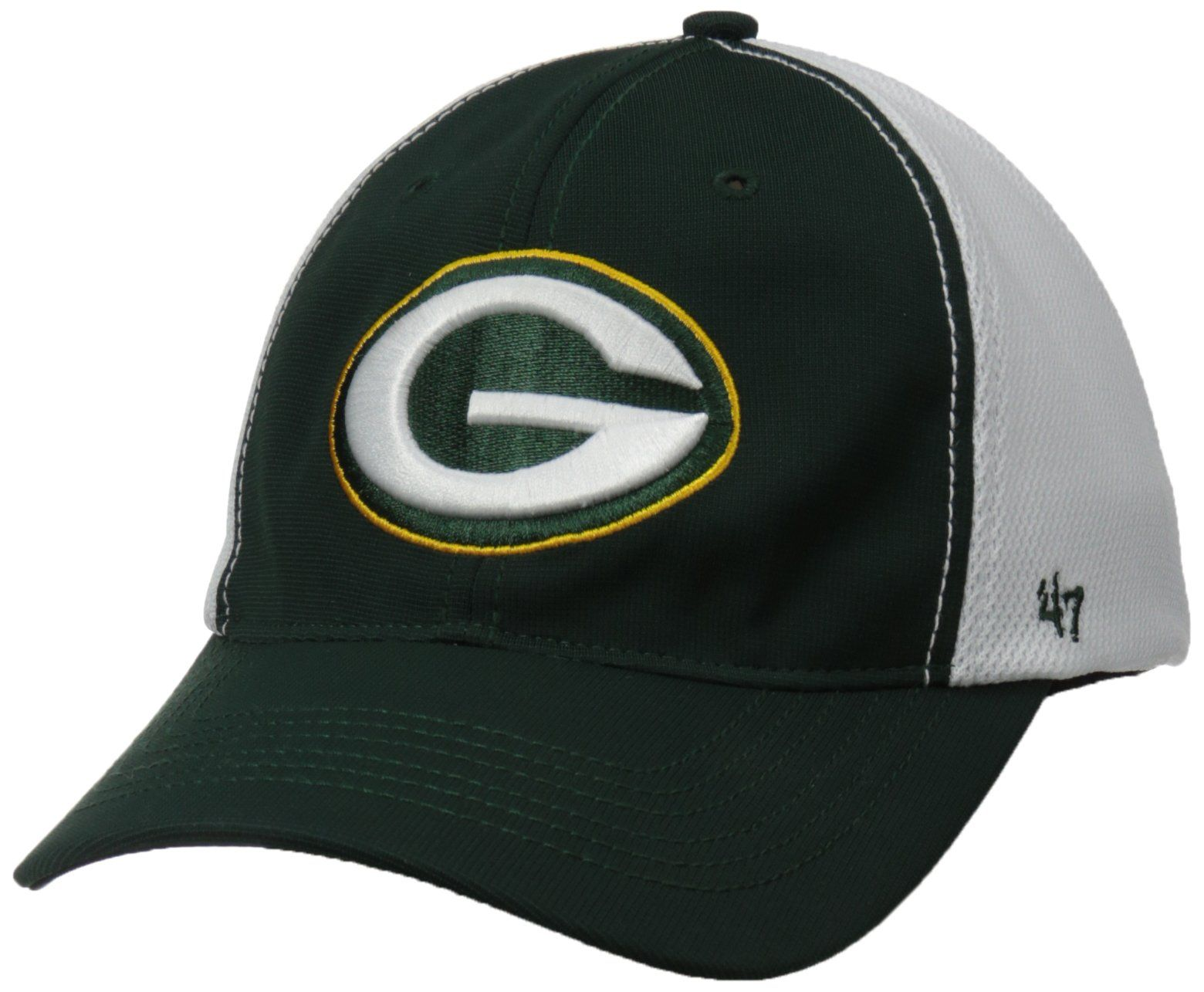 Amazon.com   NFL Green Bay Packers  47 Brand Draft Day Closer Stretch Fit  Hat fded66d9d
