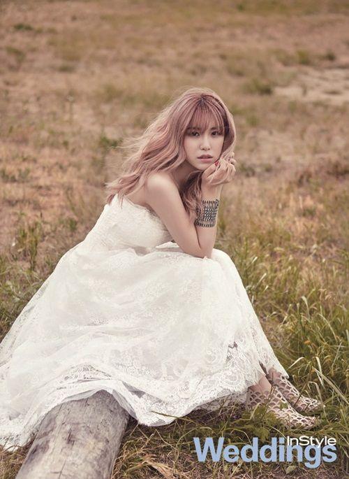 Secret Hyo Sung - InStyle Weddings Magazine July Issue '15 | Model