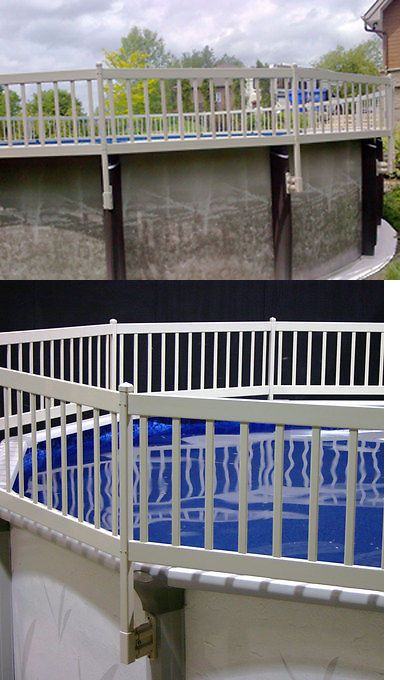 Pool Fences 167851 Resin Aboveground Swimming Pool 24 Tall Safety