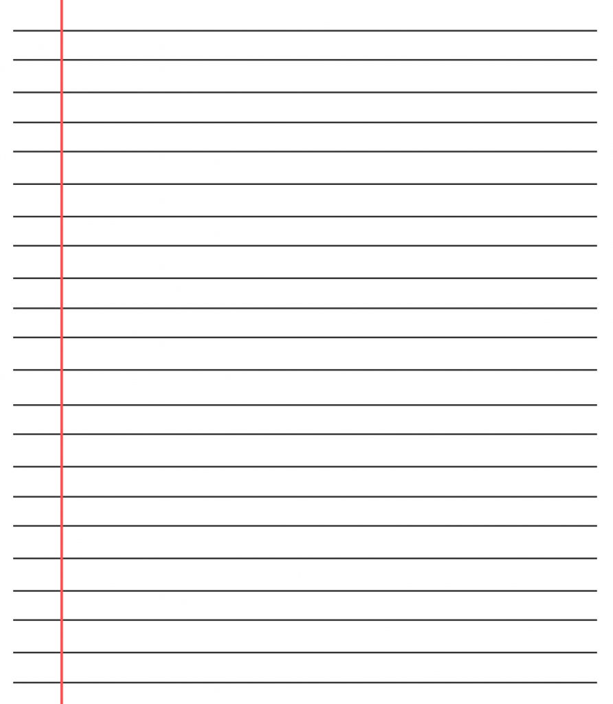 20 Free Printable Blank Lined Paper Template In Pdf For Microsoft Word Lined Paper Template Best Samp Notebook Paper Template Paper Template Ruled Paper
