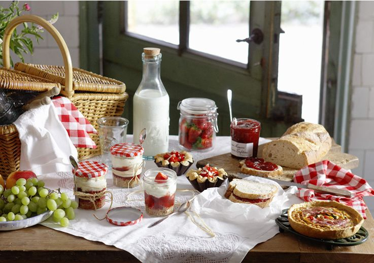 Bonne Maman Fruit Preserves ...made in France. Four fruits is my favorite.  Cherries, strwberries, redcurrants, and raspberries..yum!