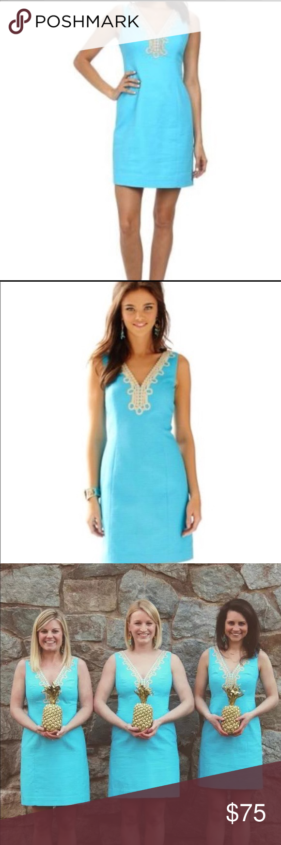 Lilly Pulitzer Bentley Dress With Gold Embroidery Lilly Pulitzer Clothes Design Lilly Pulitzer Dress [ 1740 x 580 Pixel ]