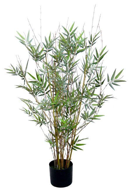 Kunstlicher Bambus Saku Ca 90cm Dekoflower Kunstpflanzen