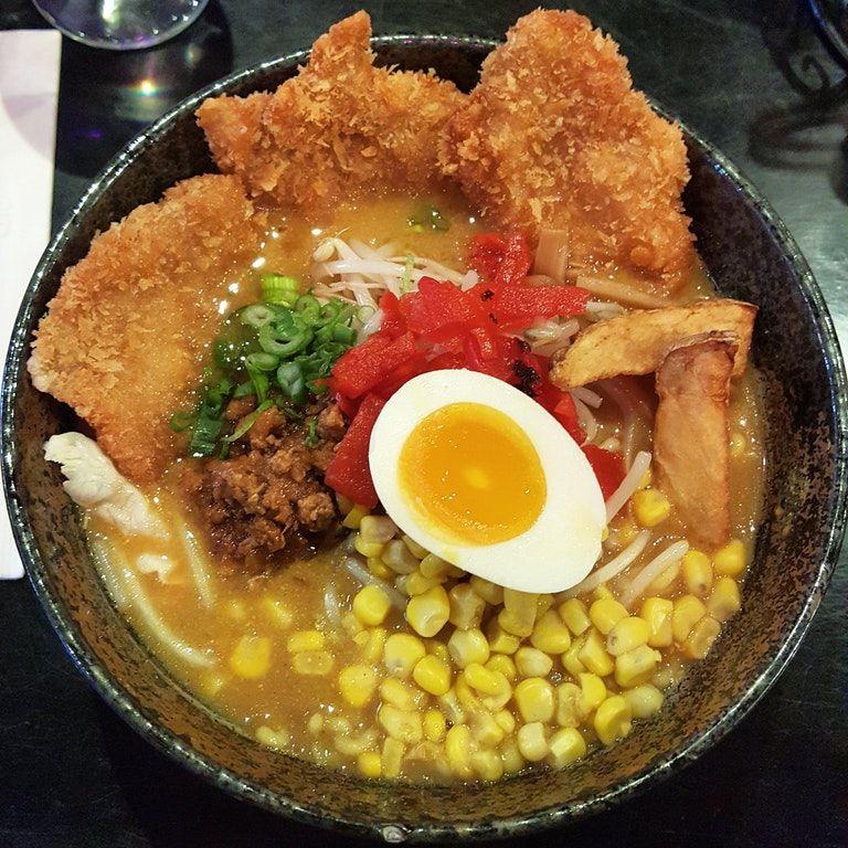Chicken Katsu Curry Ramen Chicken Katsu Curry Curry Ramen Food