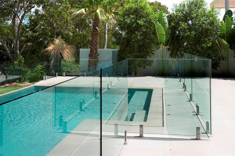 Pool Fence frameless glass pool fence. zamp.co