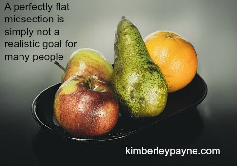 Is a flat stomach a realistic goal? http://www.kimberleypayne.com/is-a-flat-stomach-a-realistic-goal/