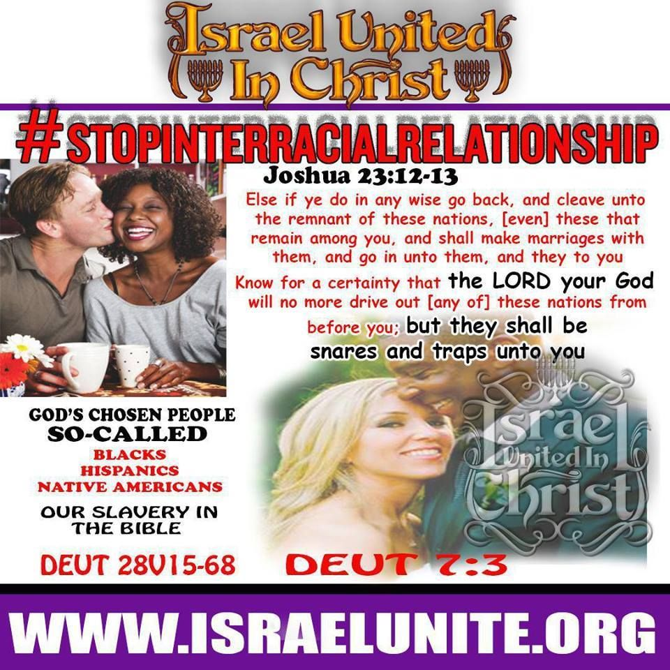 Biblical interracial dating