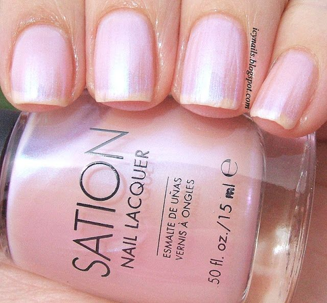 Cotton Candy Nail Polish Color: Icy Nails Miss Sation Cotton Candy