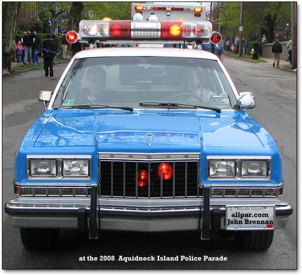 Police Sheriff Patrol Cars Drag Race: As A Child Of The '80s, I Remember Well, These Cars