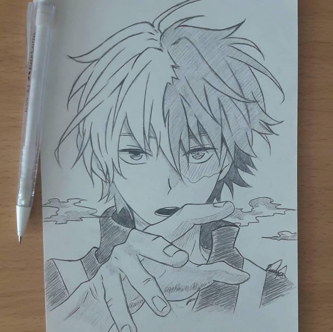 Anime Ignite Anime Boy Sketch Anime Drawings Boy Anime Drawings Sketches