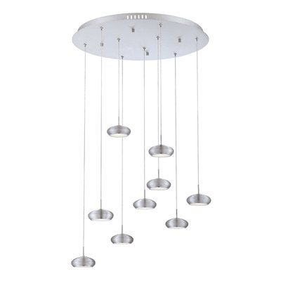 Eurofase Lighting 25670-011 Venti 9-Light Pendant