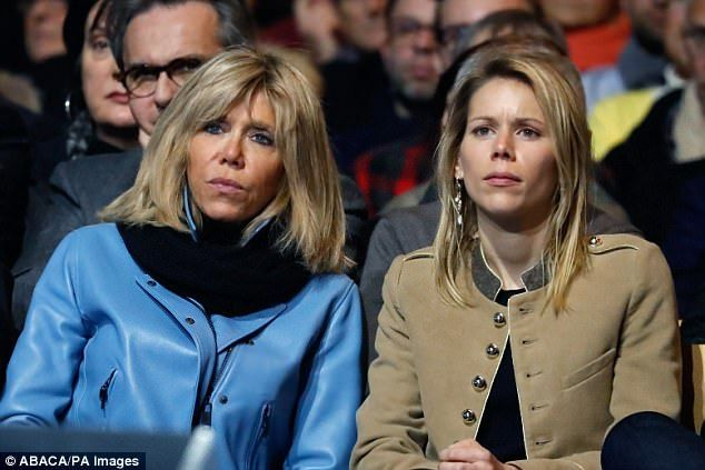 Film Shows Macron At 15 Kissing Teacher 40 Who Would Become His Wife First Lady Lady Brigitte
