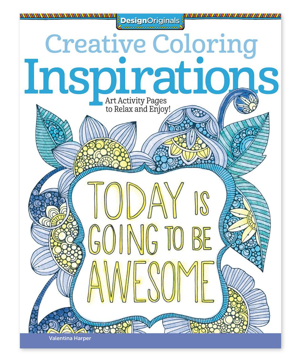 Loving This Creative Coloring Inspirations Coloring Book
