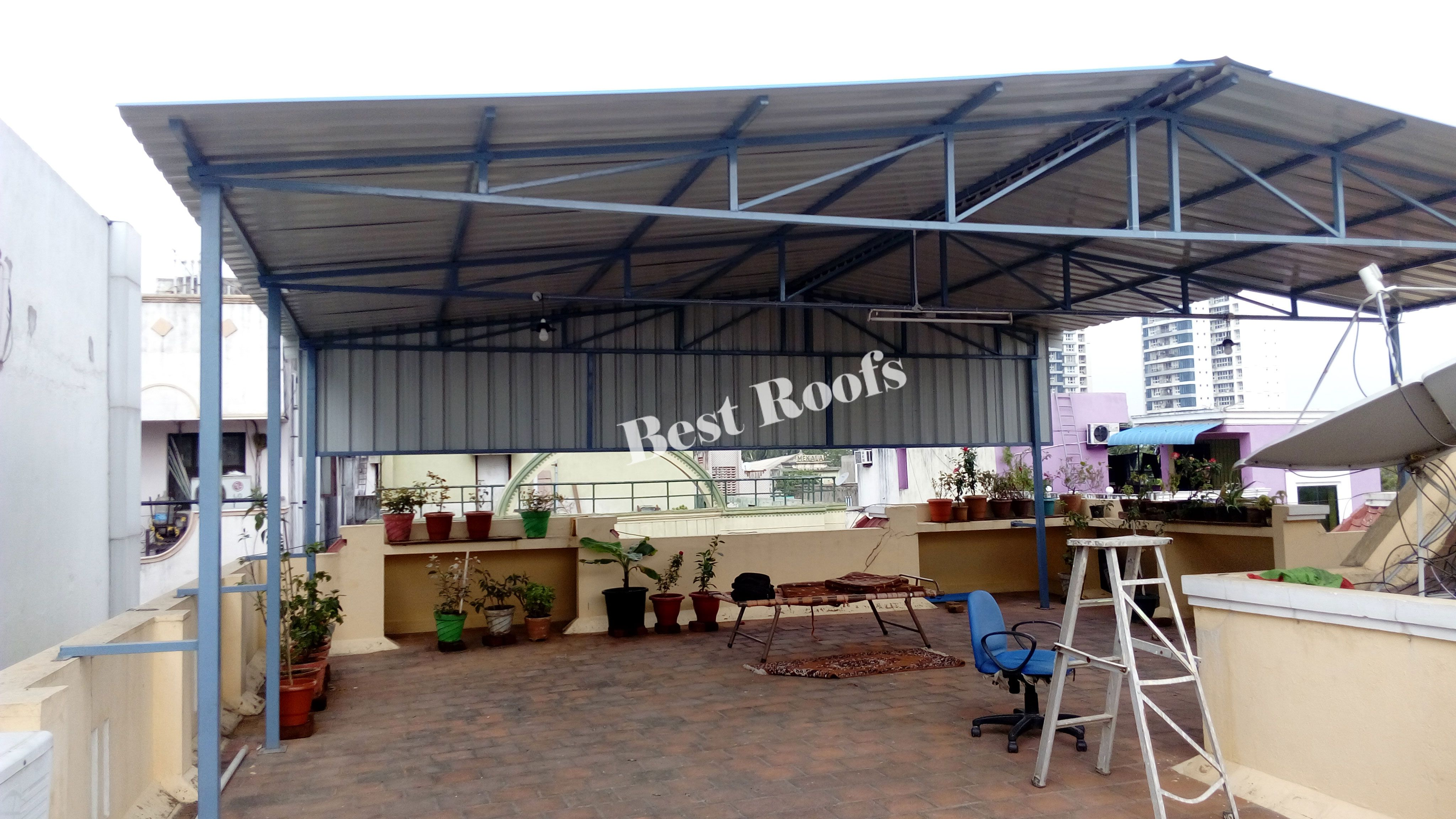 Terrace Roofing Contractors In Chennai Roofing Contractors Roofing Roof Design