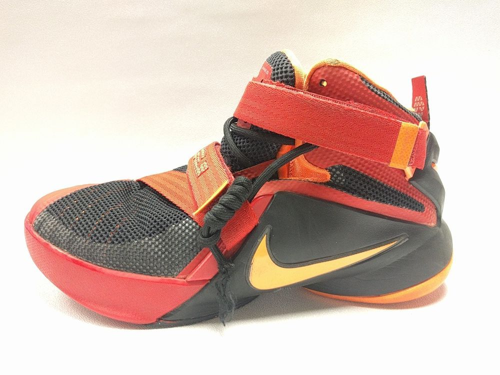 finest selection 6977c fa4c2 Nike LeBron Soldier IX Zoom Youth Basketball Shoes 776471 ...