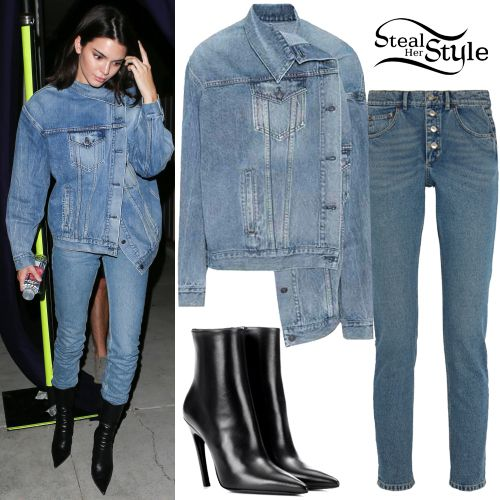 Kendall Jenner Clothes Outfits Steal Her Style Looks Look