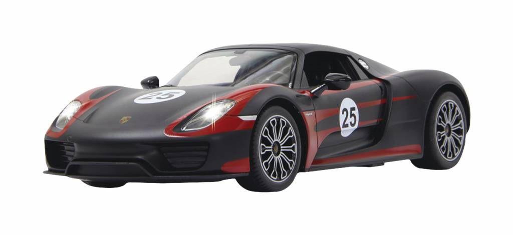 RC auto Porsche 918 Spyder -https://www.buitenspeelgigant.nl/jamara-jamara-rc-porsche-918-spyder-27-mhz-rtr-lig-44575469.html