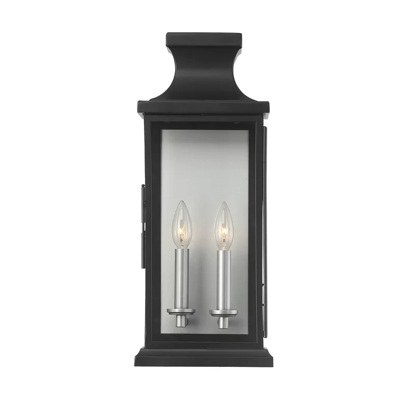 Birch Lane Wym 2 Light Outdoor Wall Lantern Reviews Wayfair In 2021 Wall Lantern Outdoor Wall Lantern Light