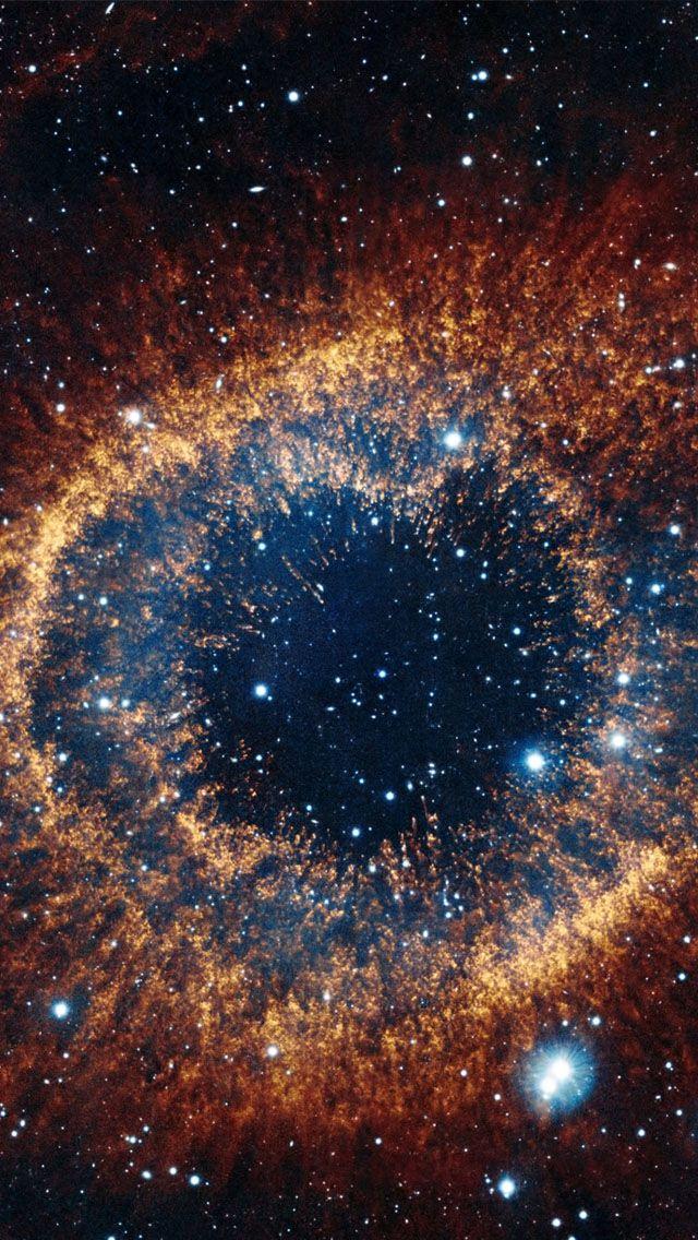 Brown Nebula Eye Wallpaper For Iphone 6 Galaxy Wallpaper