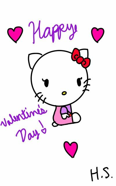 Valentine's Hello Kitty, requsted by @kayleealexisc