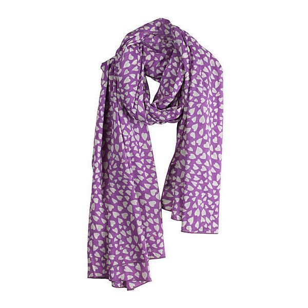 Rika Love Scarf (1.835 ARS) ❤ liked on Polyvore featuring accessories, scarves, patterned scarves, rika, cotton shawl, cotton scarves and print scarves