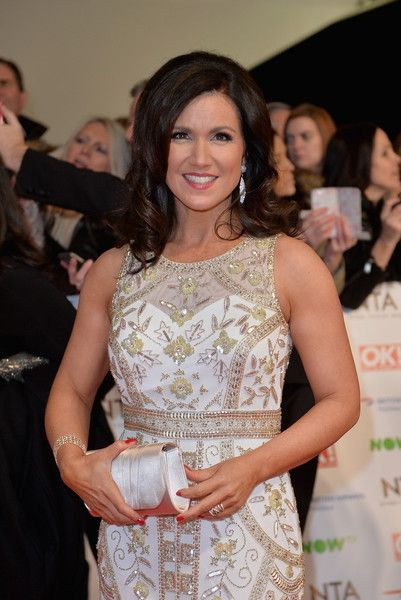 Susanna Reid at the National Television Awards 2016