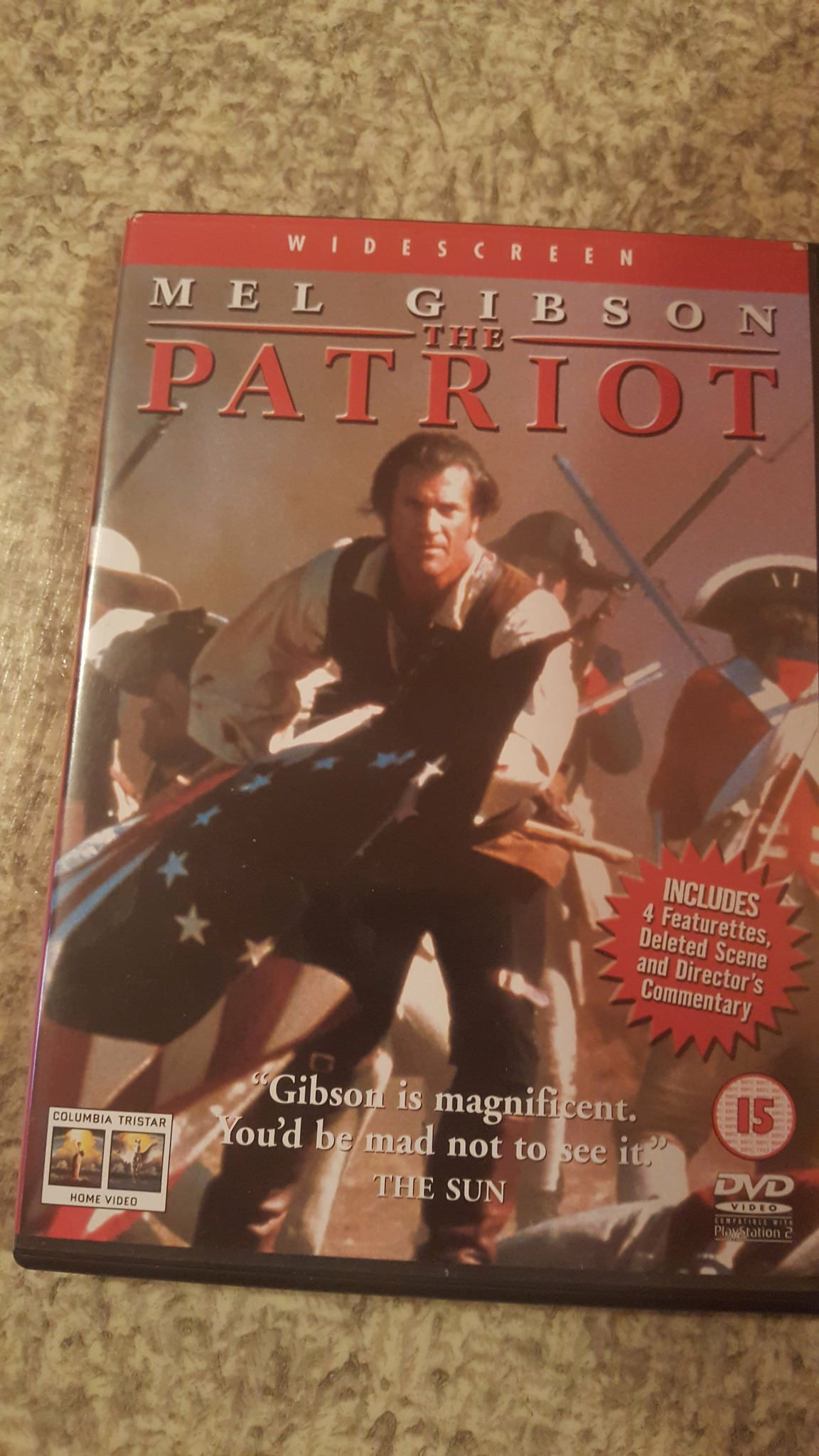 The Patriot With Images Patriot Patriots Dvds Movies